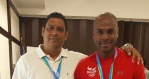 Irving Saladino y Miguelito Espinoza