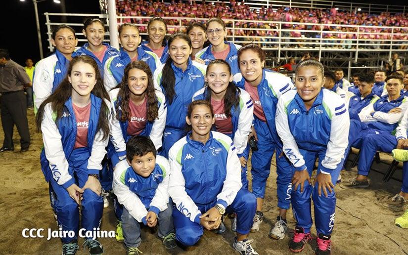 Abanderan delegación que representará a Nicaragua en Juegos Centroamericanos d4ded36230c58