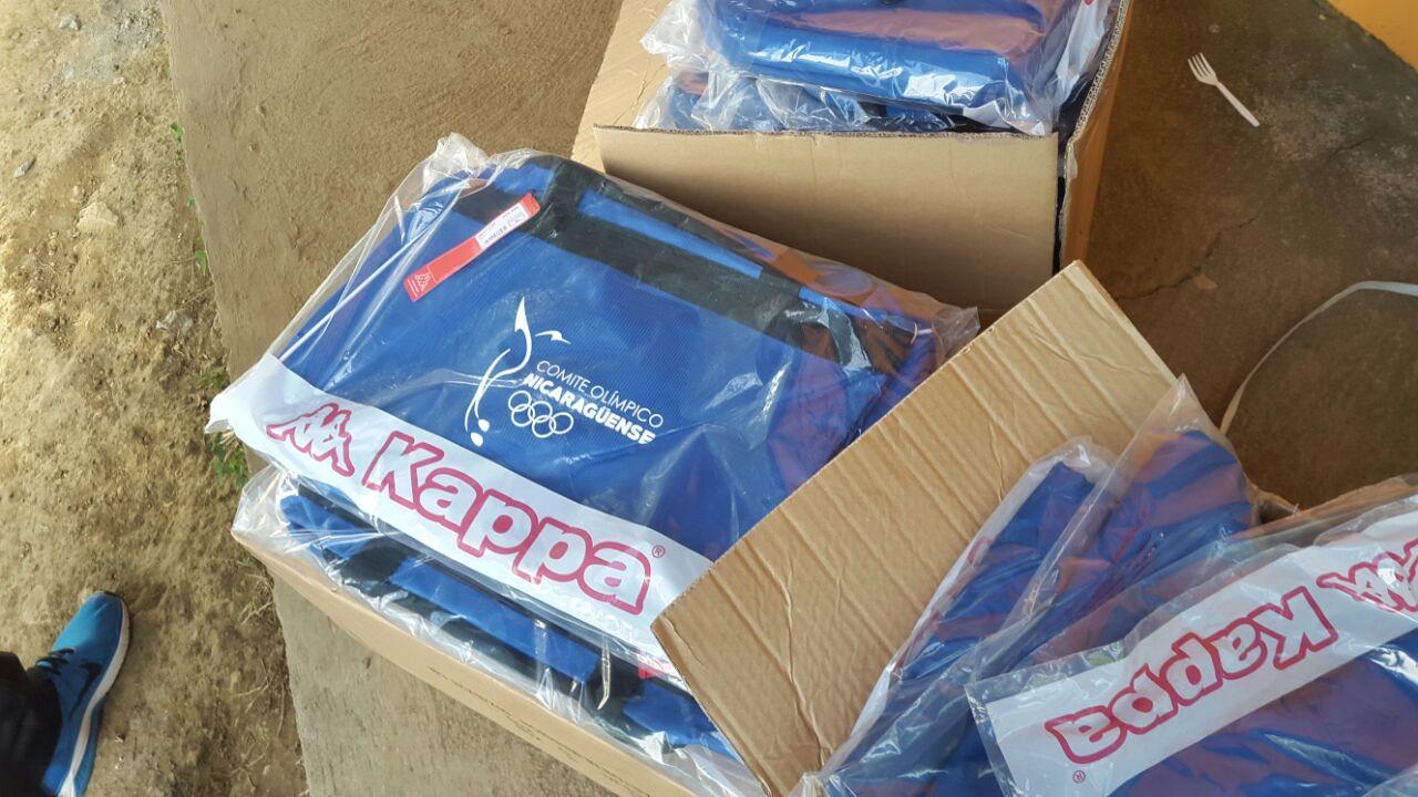 Kappa es la patrocinadora oficial de la delegación de Nicaragua para los  Juegos C.A. fa0cc585bebaf