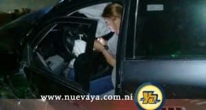 Conductora ebria causa choque frente a la UNI