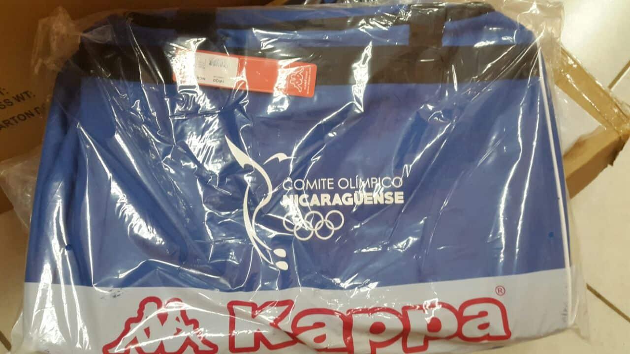 Kappa es la patrocinadora oficial de la delegación de Nicaragua para ... c912bdf1078af