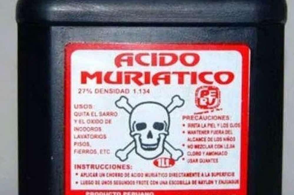 Muchacha casi se mata al tragar acido muriático en Managua 141fadc2ca17f