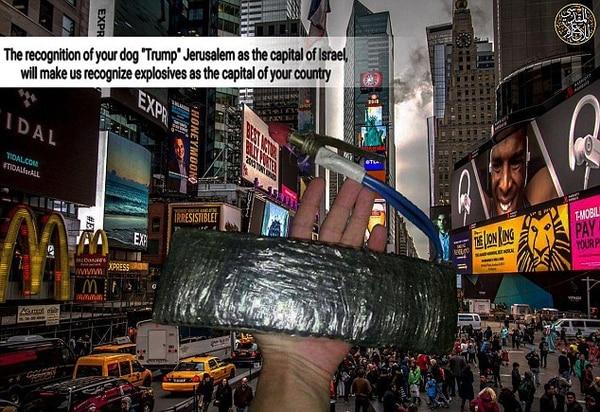 Estado Islámico amenaza a Estados Unidos por…