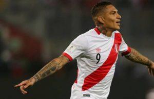Una mala para Perú Paolo Guerrero no podrá jugar en Rusia 2018