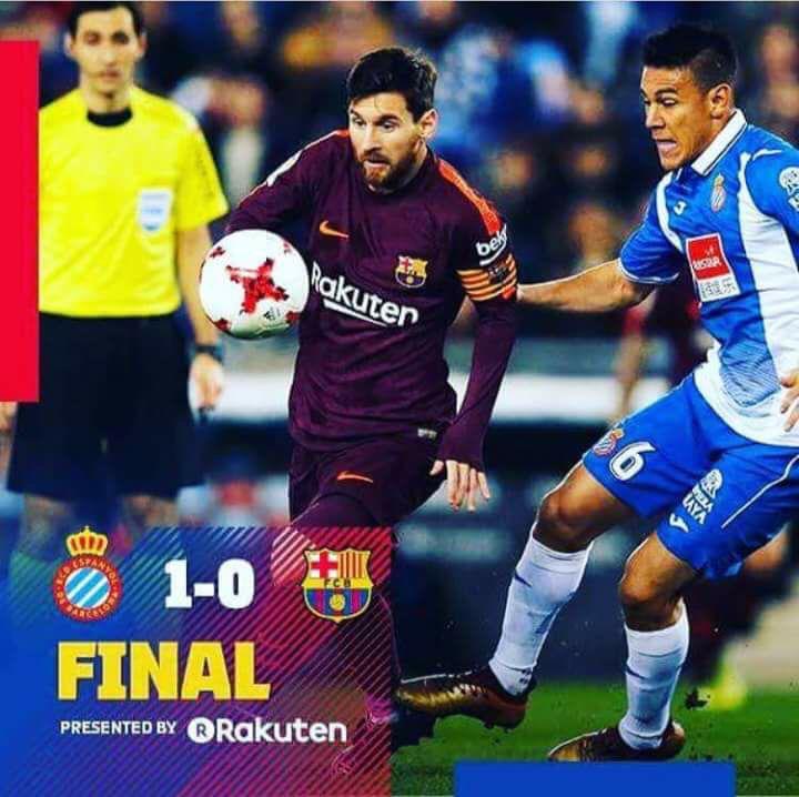 Barcelona tropezó ante el Espanyol