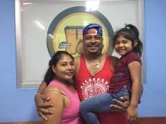 Alberto José Mendoza y su futura esposa Brenda Latino