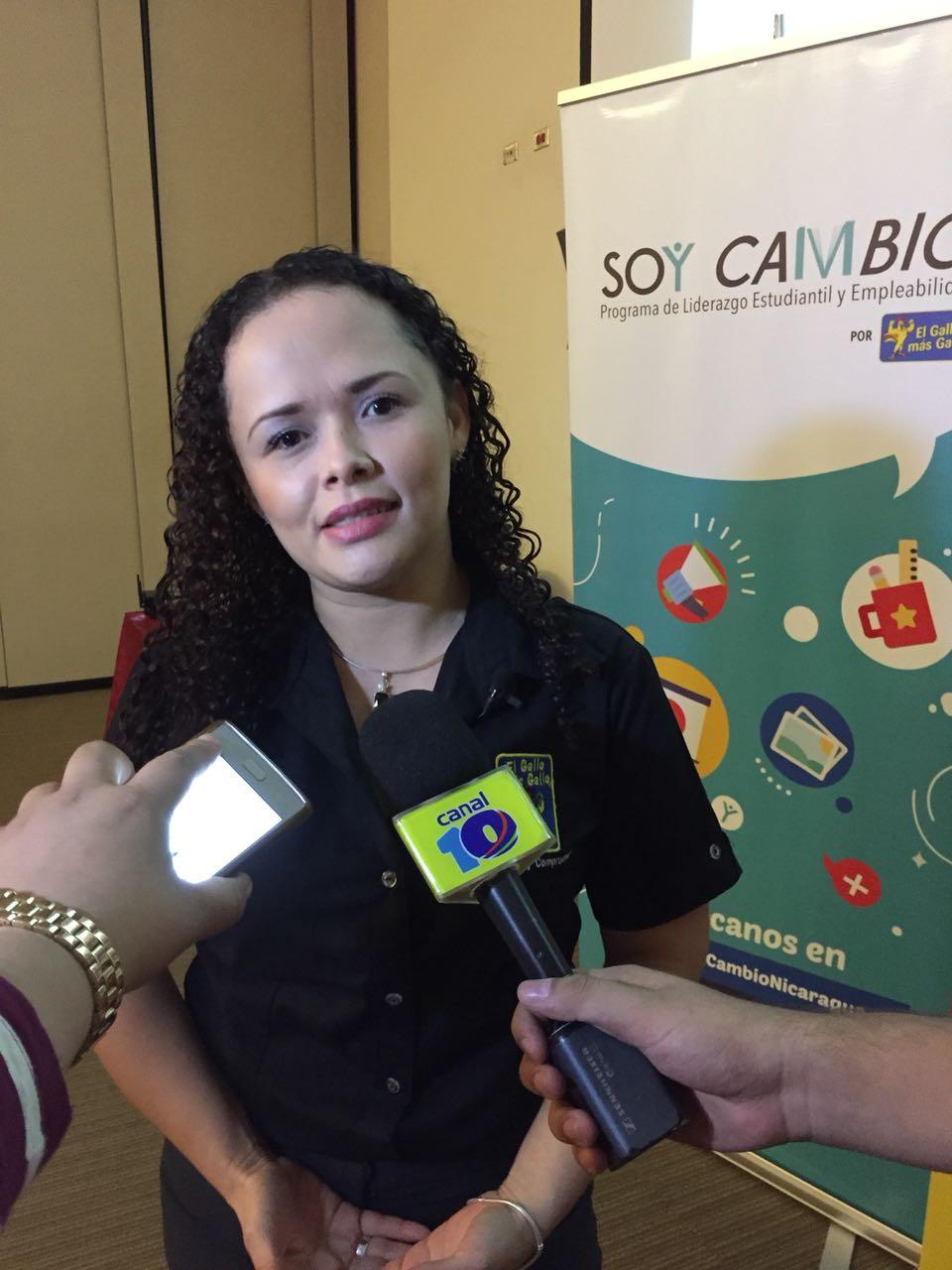 Anielka Morales, Coordinadora de Responsabilidad Empresarial de El Gallo más Gallo