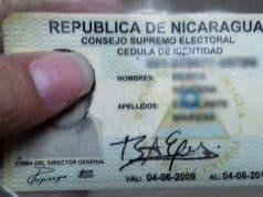 Cédula de Identidad en Nicaragua