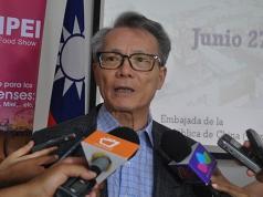 El embajador de Taiwán en Nicaragua Jaime Wu