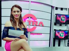La guapa presentadora nicaragüense Karly Fornos