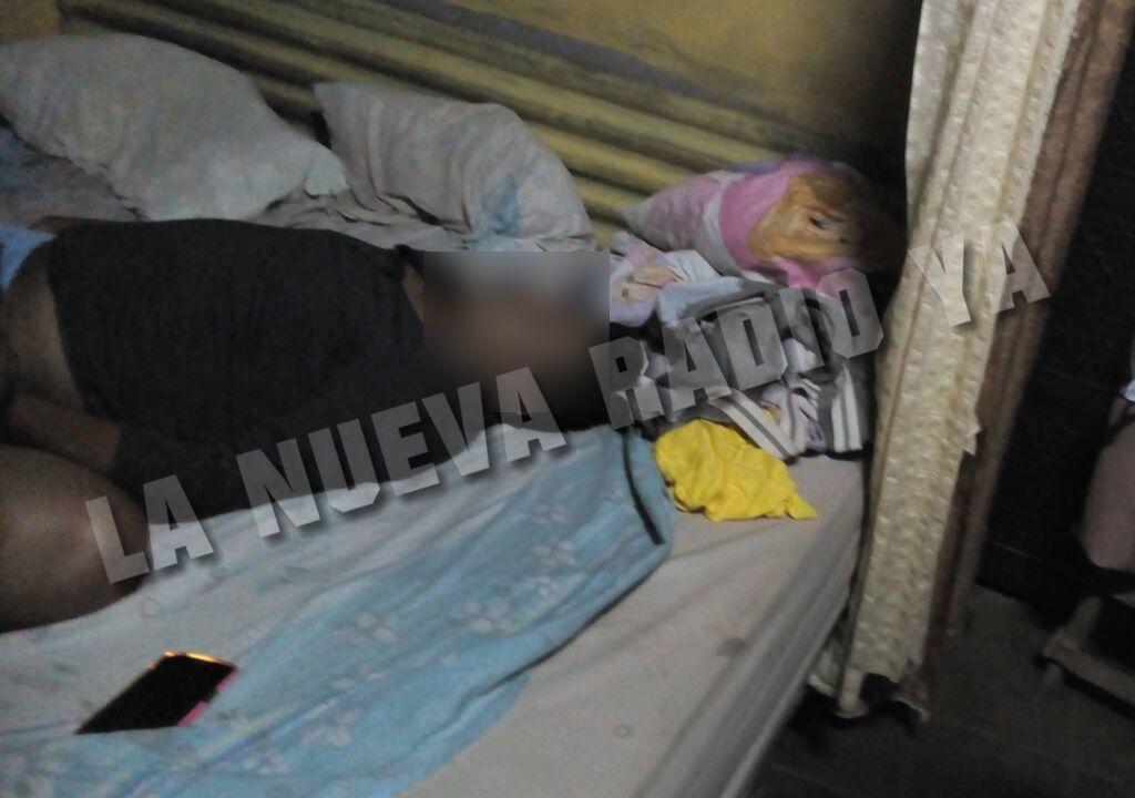 Erick Javier Espino Calero llegó cansado a su vivienda
