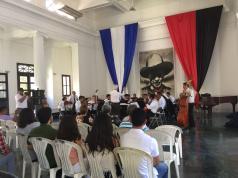 la Orquesta Nacional brindó un concierto