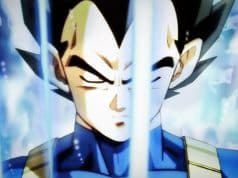 Vegeta un orgulloso saijayin en Dragon Ball Super