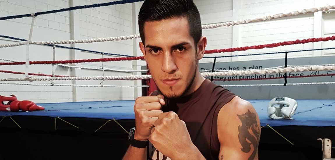 El boxeador nicaragüense Yerel Siezar