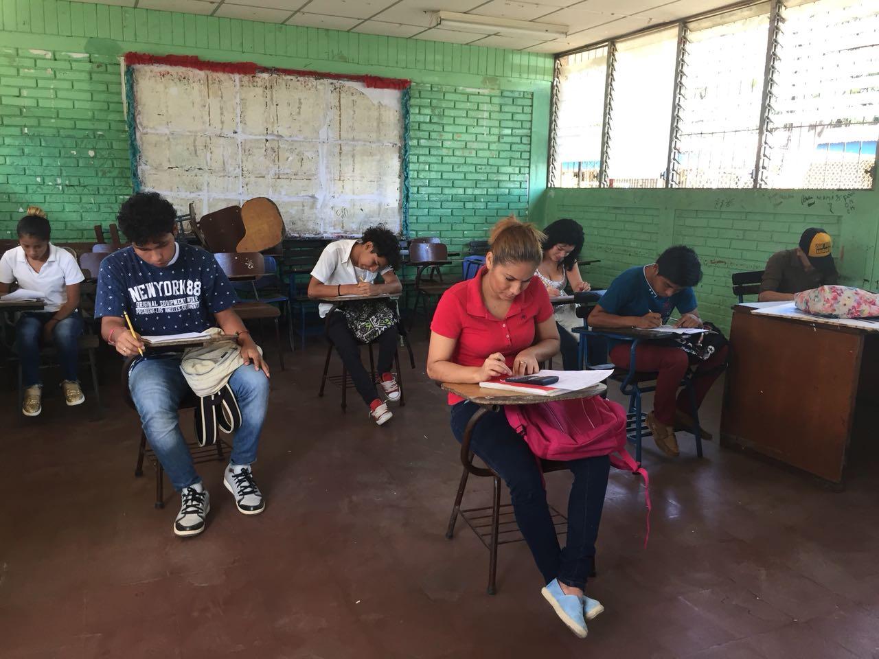 Hubo una disminución considerable en el colegio Benjamín Zeledón