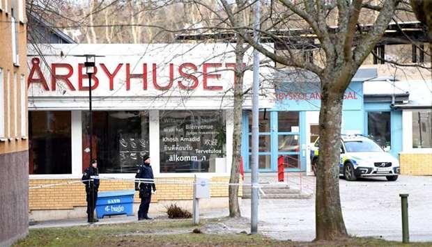 Muere un hombre al explotar un artefacto en Estocolmo