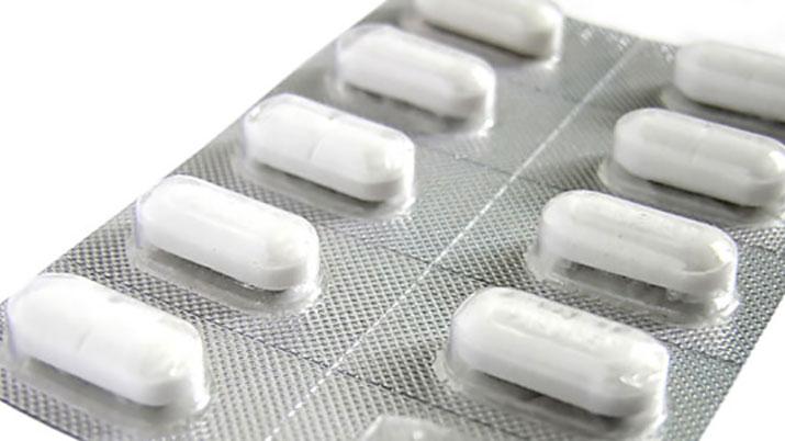 Un blíster de ibuprofeno