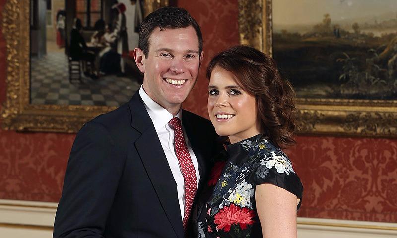 La princesa Eugenia y su novio Jack Brooksbank