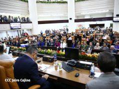 Sesión de la Trigésima Cuarta Legislatura de la Asamblea Nacional de Nicaragua
