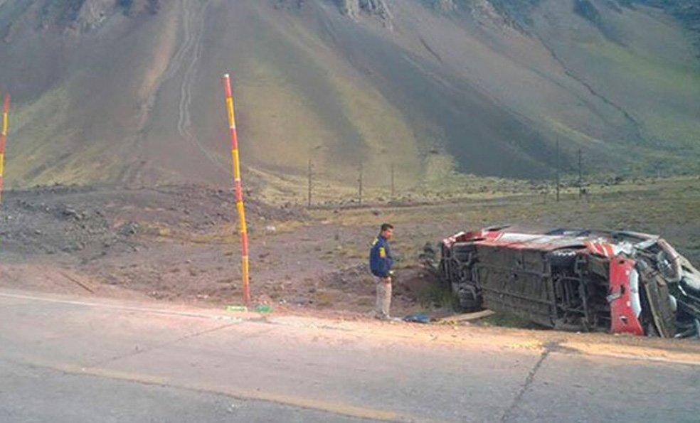 3 niños chilenos murieron en un accidente en Argentina