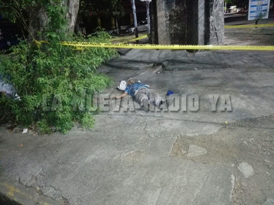 Anciano encontrado muerto esta madrugada en Managua