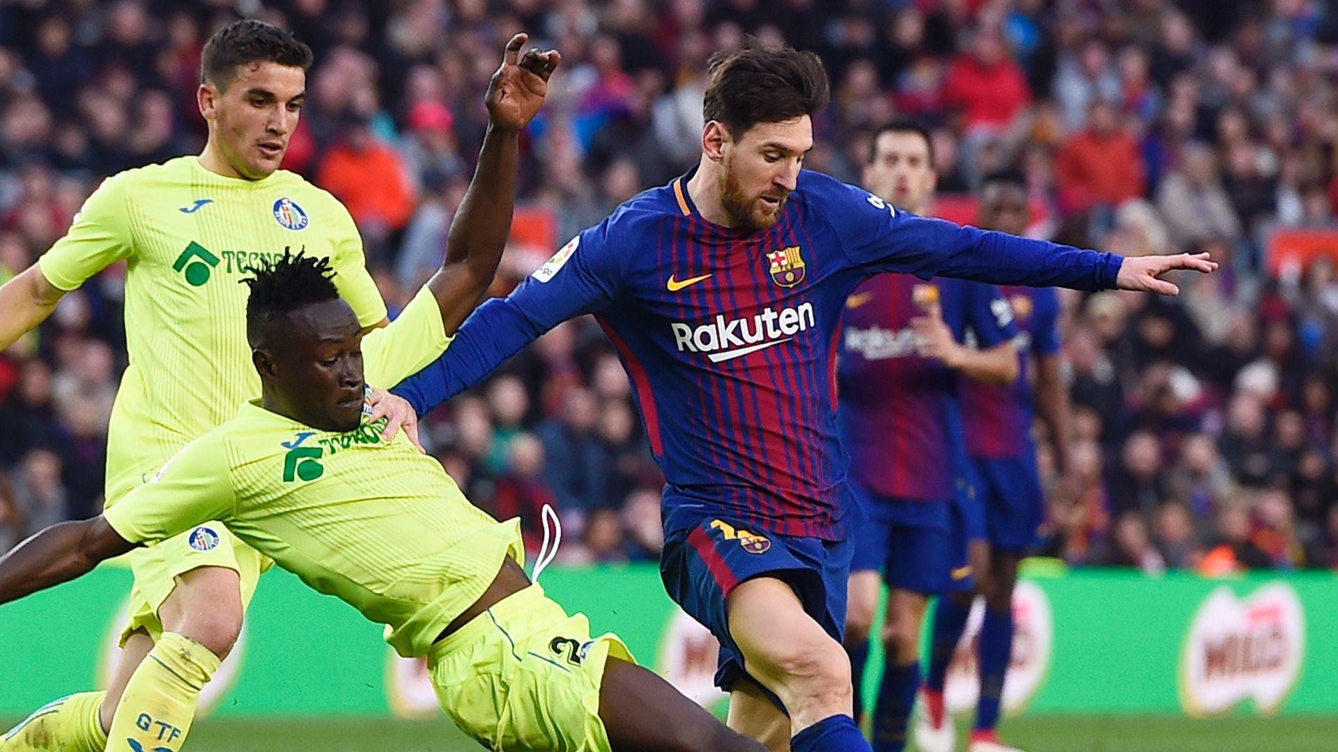 Barcelona empata sin goles con el Getafe