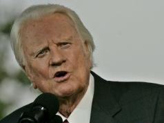 Falleció el pastor Billy Graham
