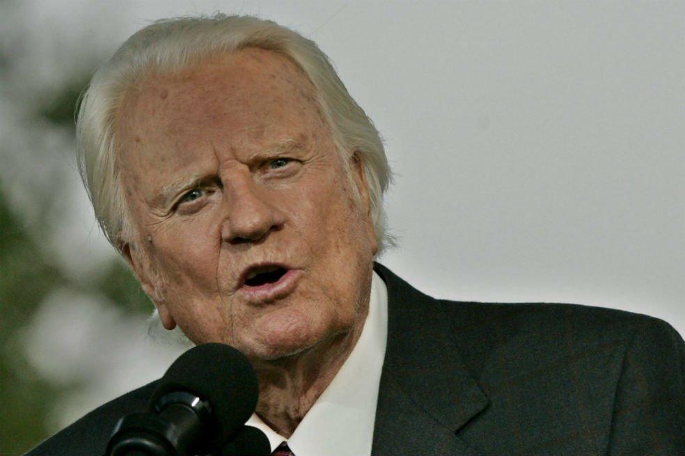Falleció el pastor Billy Graham
