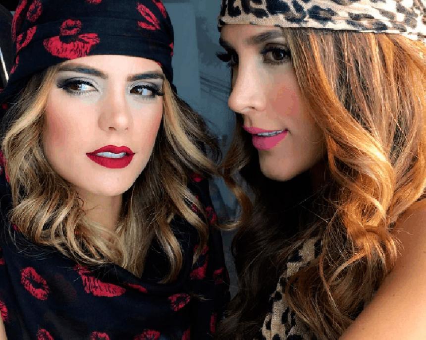 Daniela Ospina y Vaneza Peláez en un escándalo de narcotráfico