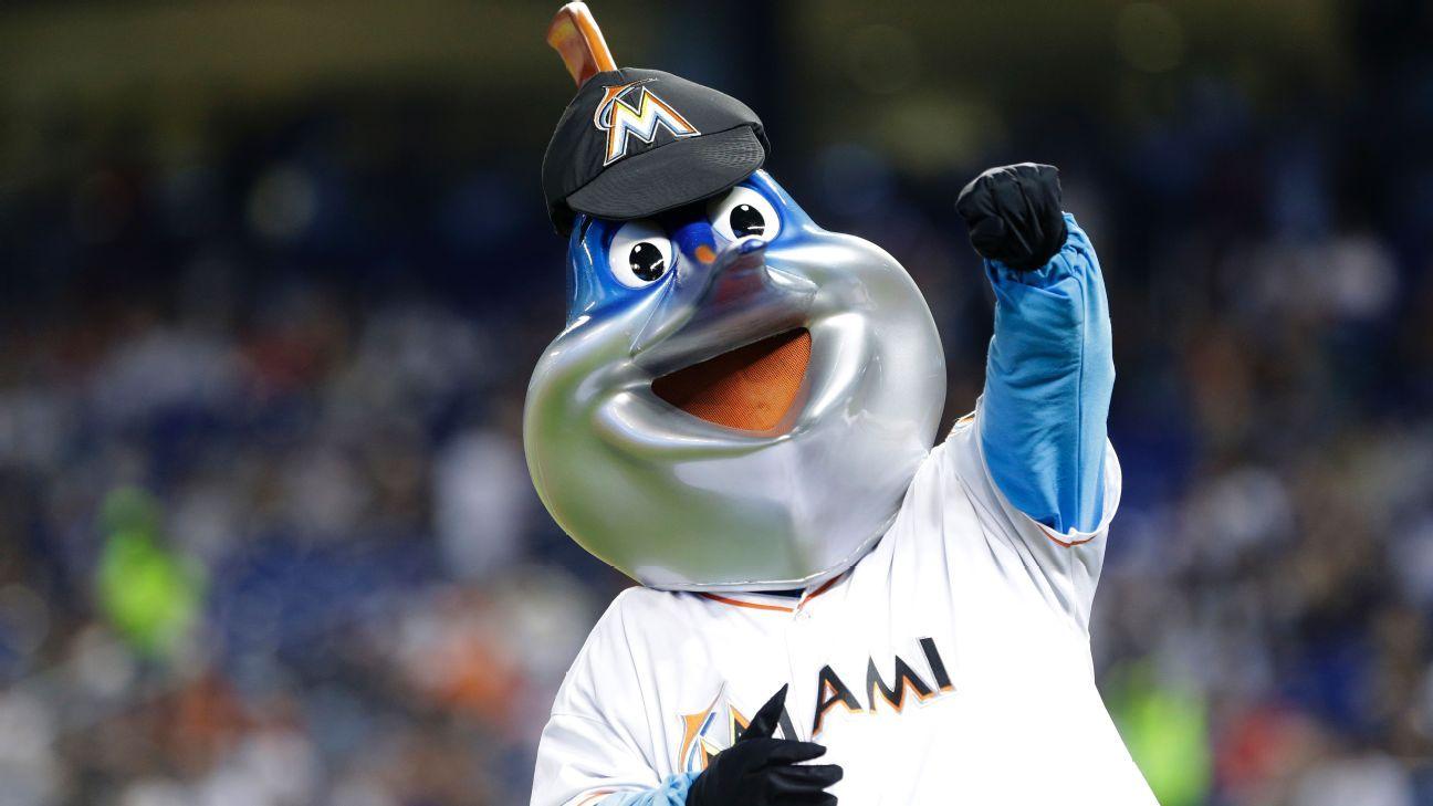 Miami Marlins sigue con la limpia y ahora se deshacen hasta de la mascota
