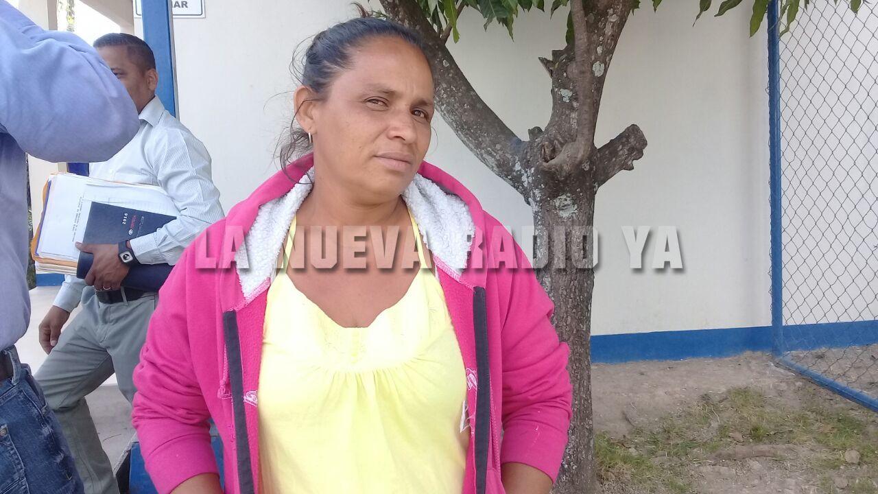 Doña Sandra Meza, madre de Maynor