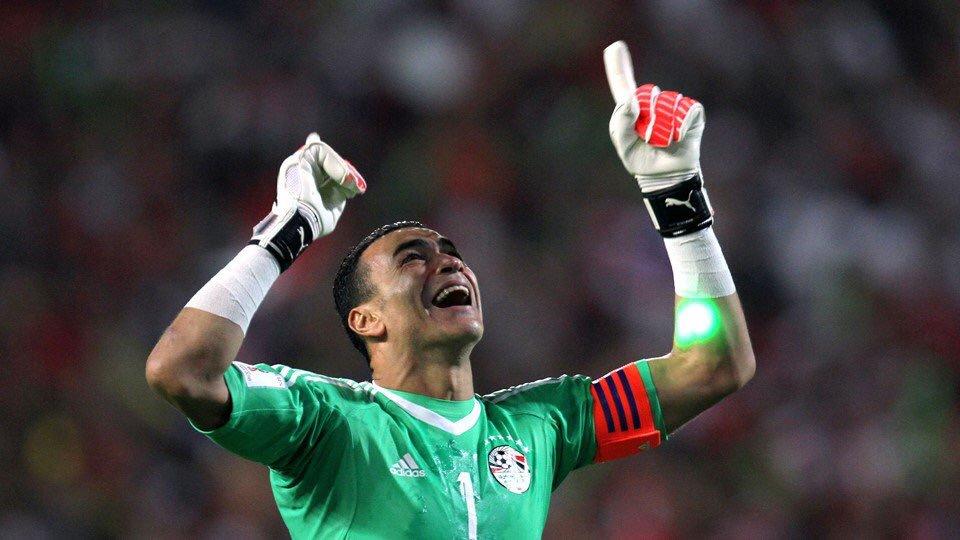 Essam El Hadary, de 45 años, será el portero más viejo en jugar en una Copa del Mundo