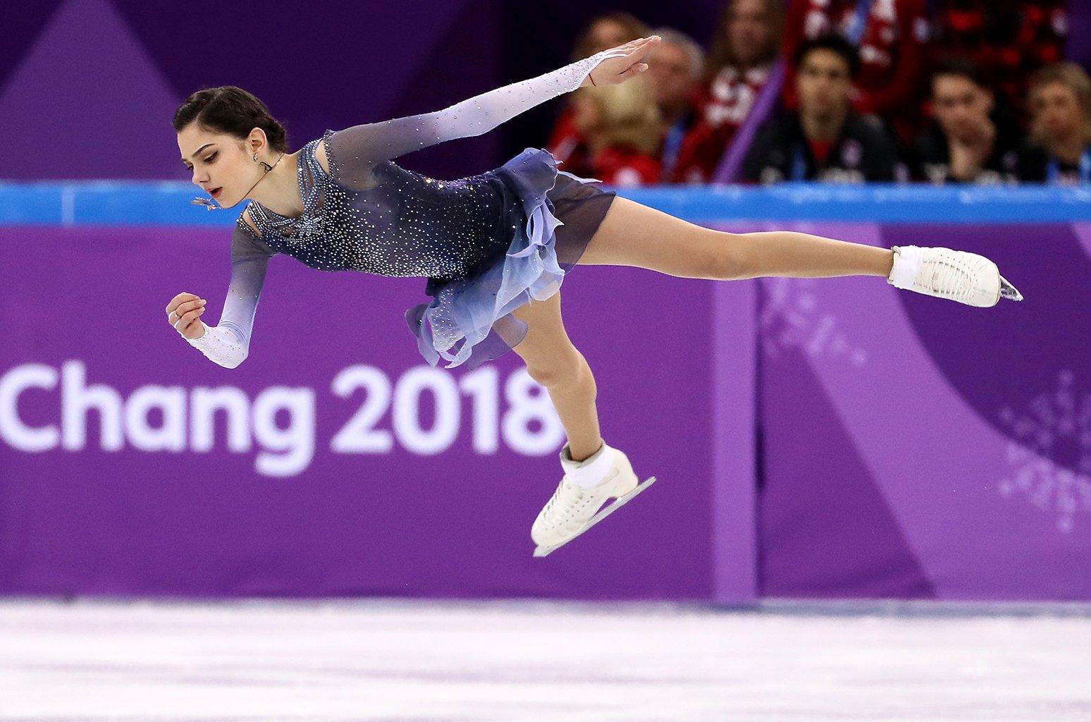 La atleta rusa Evgenia Medvedeva