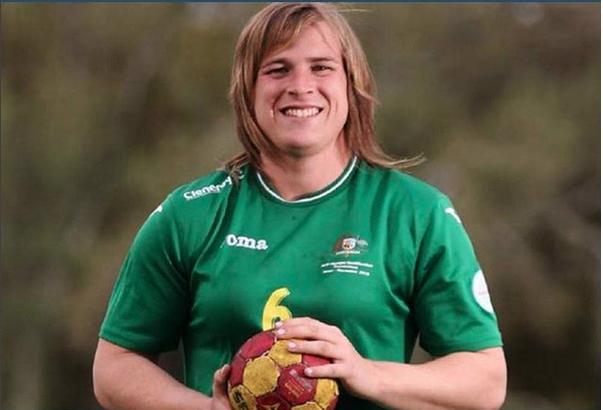 Hanna Mouncey será la primera transexual para jugar en la liga para damas de Australia