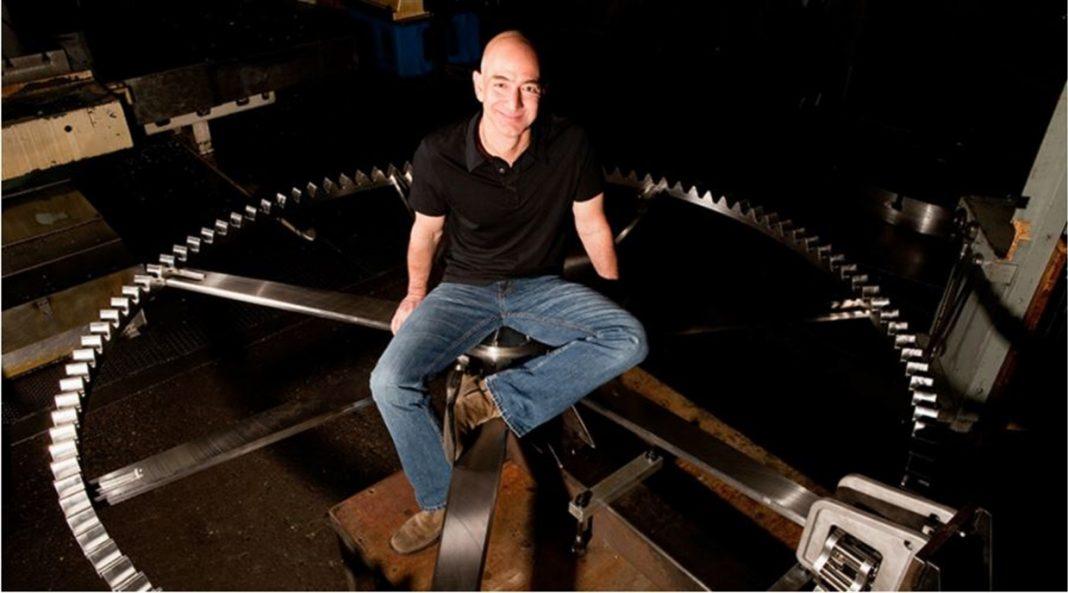 Jeff Bezos el dueño de Amazon