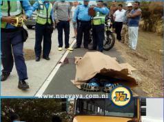 Juan Carlos Acuña Membreño falleció atropellado esta mañana