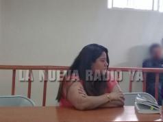 Julissa Auxiliadora García Ramírez fue acusada por hurtar en una financiera