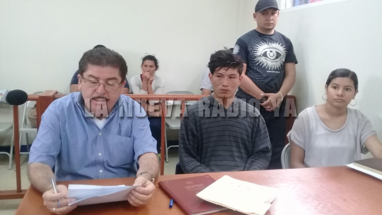 El acusado Osiris Josué Gadea Rodríguez, de 21 años