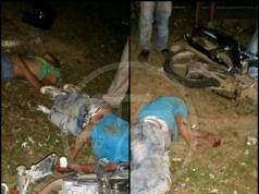 ambos motorizados viajaban en presunto estado de ebriedad y a exceso de velocidad