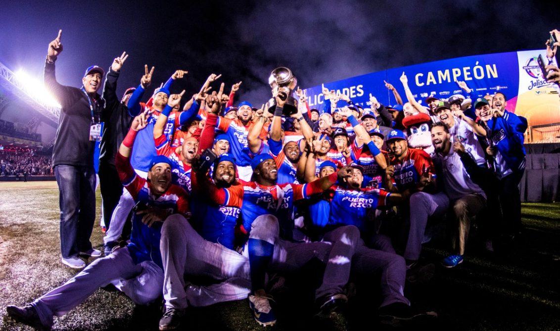 Puerto Rico se corona campeón de la serie del Caribe