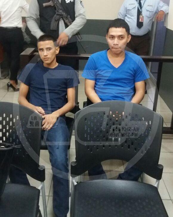Ramiro Antonio Silva Dávila, y Roger Francisco Melgara López
