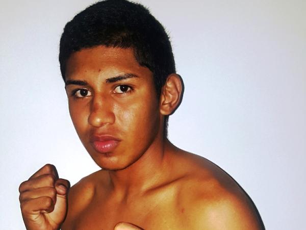 El boxeador nicaragüense Ramiro Blanco