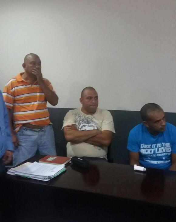 Ramón Antonio Hernández, Wilmer Sosa y Yader Antonio Largaespada