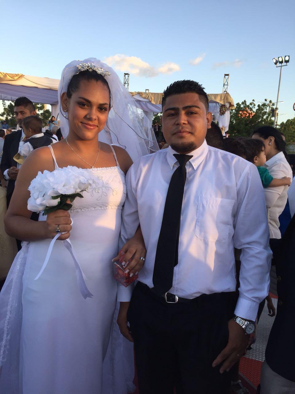 Una de las felices parejas que se casaron este 14 de Febrero en Ya Tu Boda 2018
