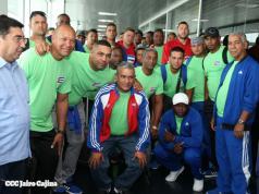 Selección de Cuba llega a Nicaragua