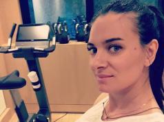 La atleta rusa Yelena Isinbáyeva se convirtió en madre por segunda vez