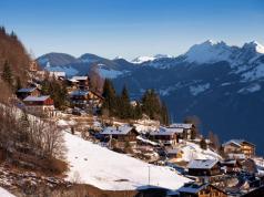 La región de Valais, en los Alpes Suizos
