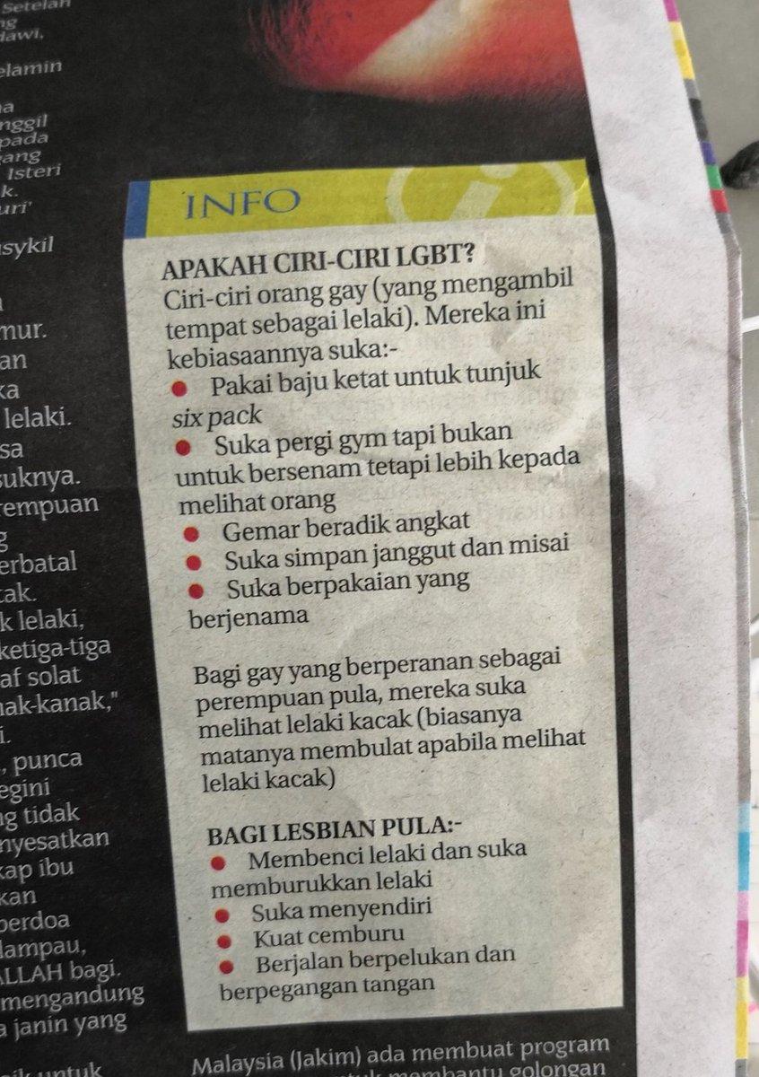 Este es el mencionado artículo publicado por el diario de Malasia