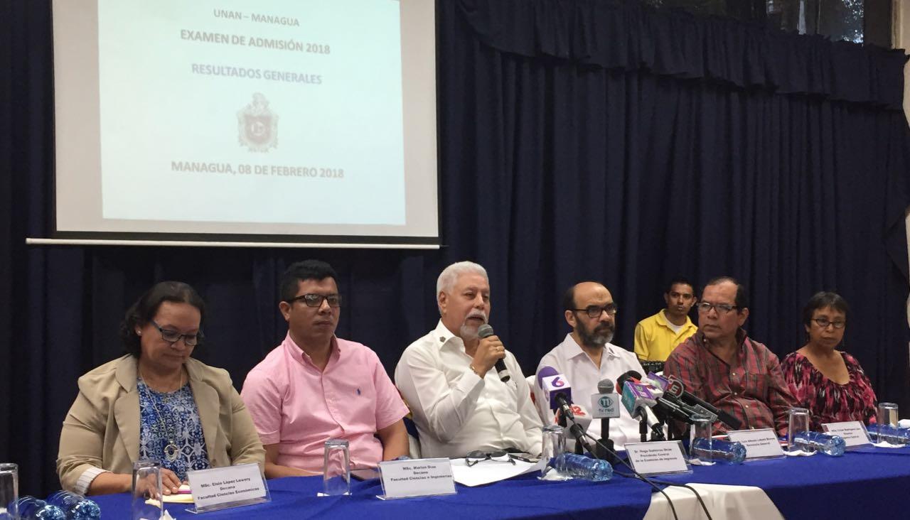 La Comisión Central de Ingresos de la Unan-Managua