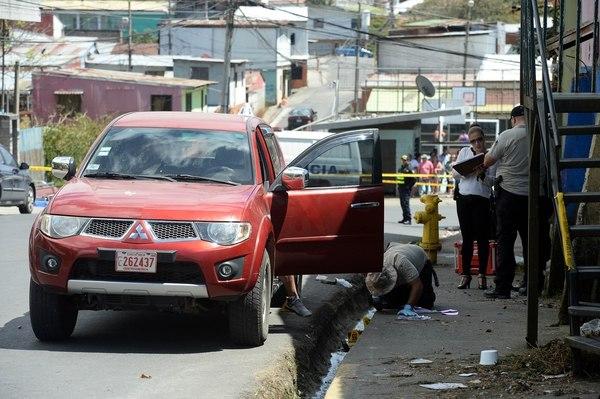 2 sujetos en moto llegaron hasta donde estaba el nicaragüense y lo asesinaron en Costa Rica